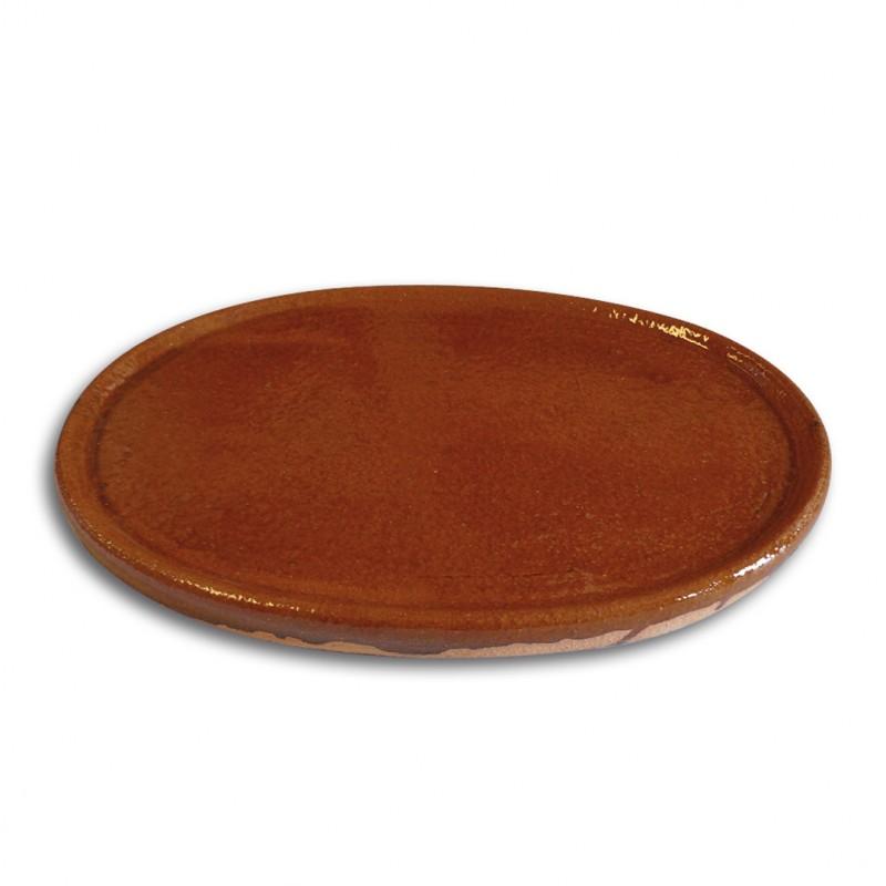 Plancha ovalada de barro de pereruela para hornos de le a - Horno lena prefabricado ...