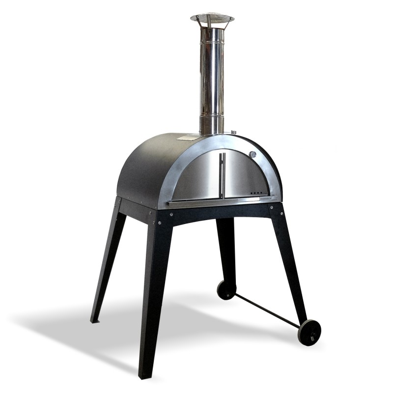 Horno de le a de acero inoxidable - Termometros para hornos de lena ...
