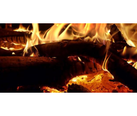 Calentar un horno de leña con hornilla
