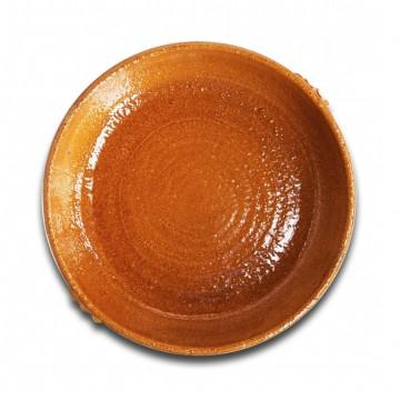 Paellera de barro para horno de leña