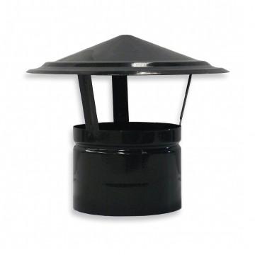 Sombrero chino de acero vitrificado