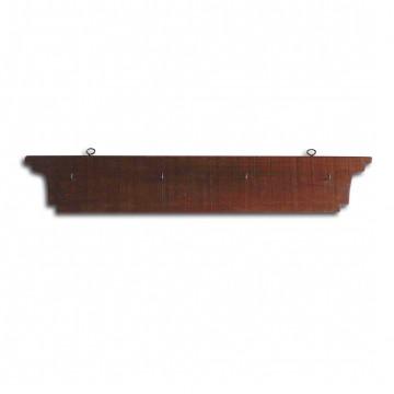 Soporte de madera para juego de palas