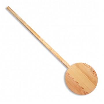 Pala redonda de madera para hornos de leña