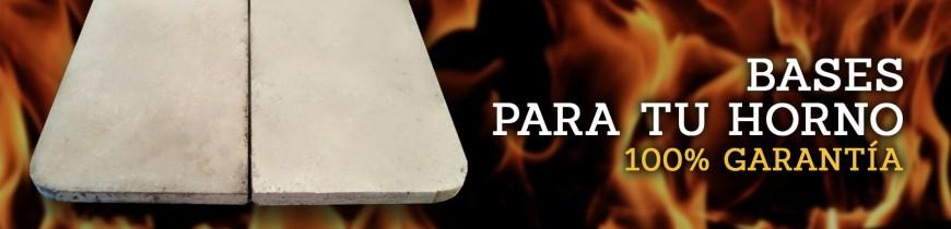 Bases de hormigón para hornos